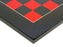 Italian Red Black Squadron Chess Set - Official Staunton™