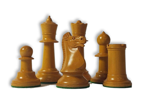 1962 Varna Olympiad Antique & Black Chess Pieces - Official Staunton™