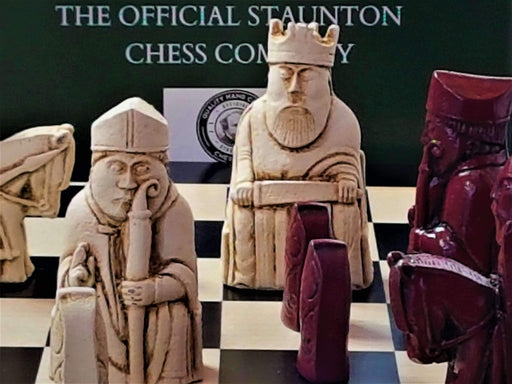 Isle of Lewis Tuscan Anegre Chess Set - Chess Set