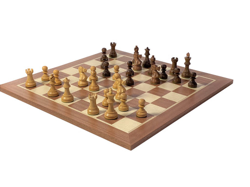 Grand Acacia Executive Mahogany Chess Set - Official Staunton™