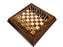 23.6 Inch Italian Prestige Elite Knight & Elm Briar wood Chess Cabinet - Official Staunton™