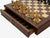 "16 "" Italian Prestige Walnut Drawer Chess Set - Official Staunton™"