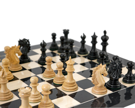 Andalusian RC Ebony Collection Chess Set - Official Staunton™