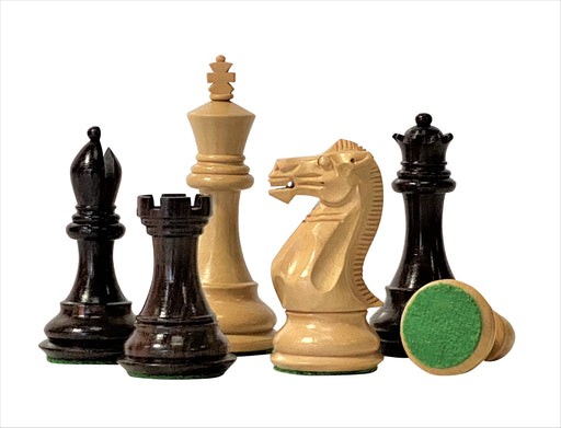 "4 ""Professional Stallion Rosewood Chess Pieces - Official Staunton™"