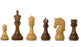 "3.75"" Imperial Acacia Boxwood Chess Pieces - Official Staunton™"