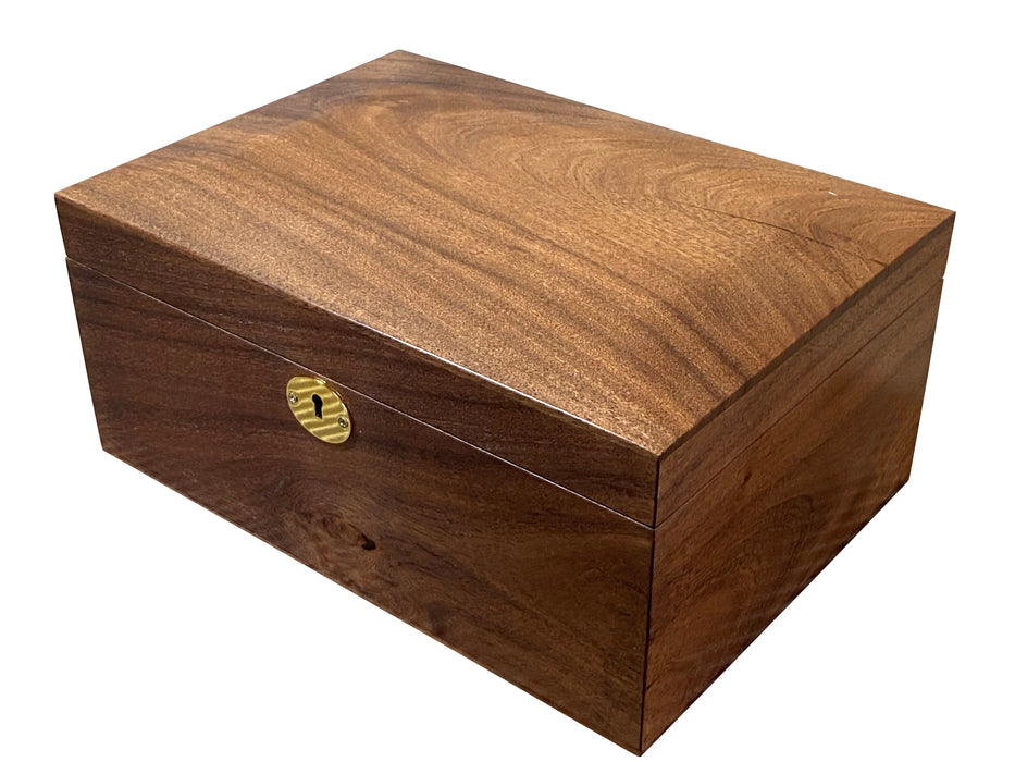 Luxury Hand Made Solid Wood Chess Box - Official Staunton™