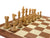 "21"" Acacia Winchester Mahogany Chess Set Combination - Official Staunton™"