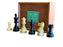 Club Tournament Chessmen & Slide Lid Box - Official Staunton™