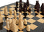 Isle of Lewis Teak Makassar Luxury Presentation Chess Set - Official Staunton™