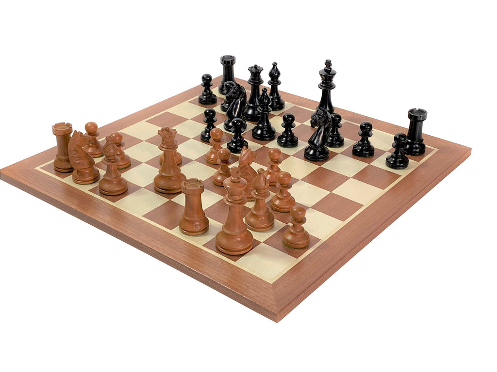 Hastings Antique Mahogany Chess Set - Official Staunton™