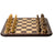 "19"" Artisan Leningrad Rosewood & Maple Chess Set Combination - Official Staunton™"
