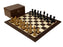 "19"" Zagreb Ebonised Wenge Chess Set - Official Staunton™"