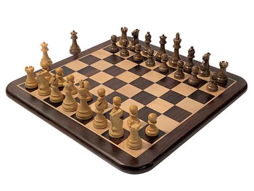 Atlantic Hand Made Solid Rosewood Chess Set Combination - Official Staunton™