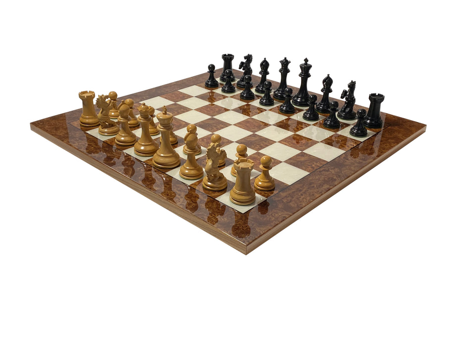 Italian Prestige Ferrari Chess Set - Official Staunton™