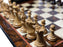 Collectors Prestige Rosewood Walnut Chess Set Combination - Official Staunton™