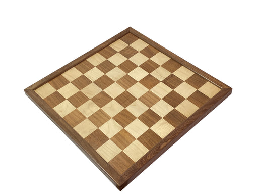 "20"" Acacia & Maple Solid Wood Chessboard - Official Staunton™"