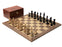 Collector Series Black Walnut Chess Set & Box - Official Staunton™