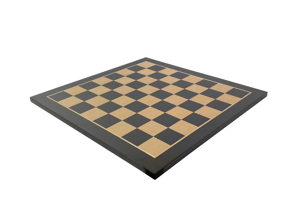 "21"" European Anegre and Maple Chess Board - Official Staunton™"