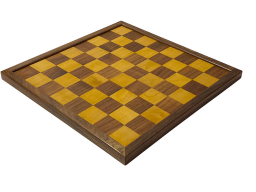 "20"" Antiqued Solid Wood Chess Board - Official Staunton™"