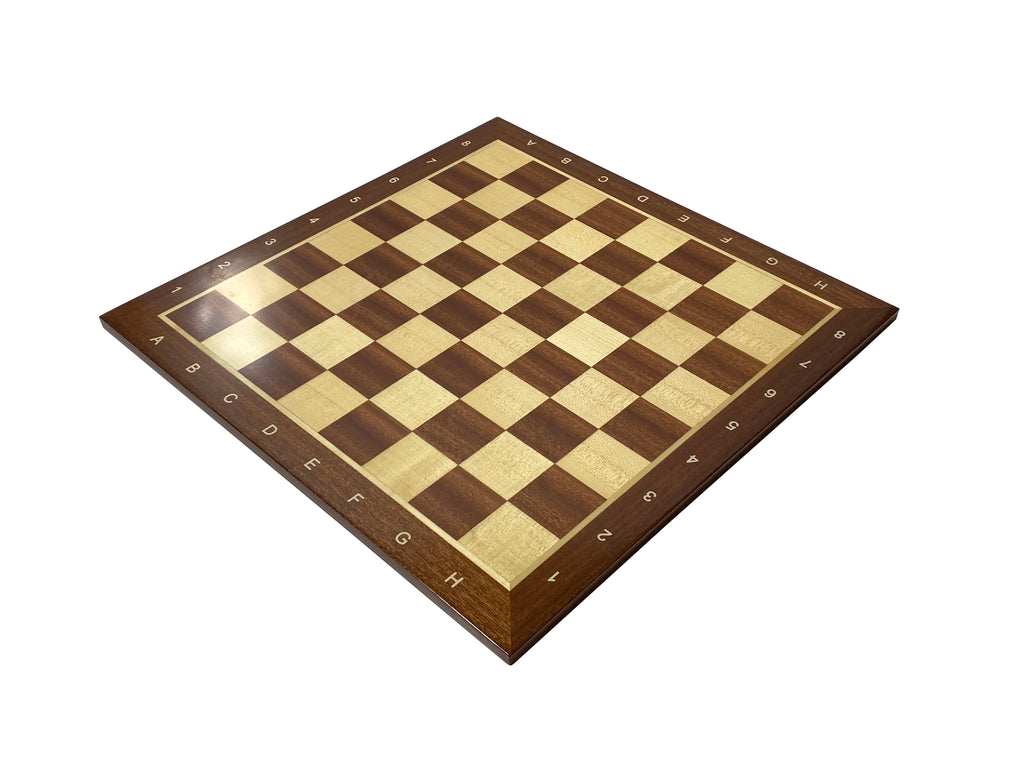 "19"" Algebraic Tournament Chess Board - Official Staunton™"