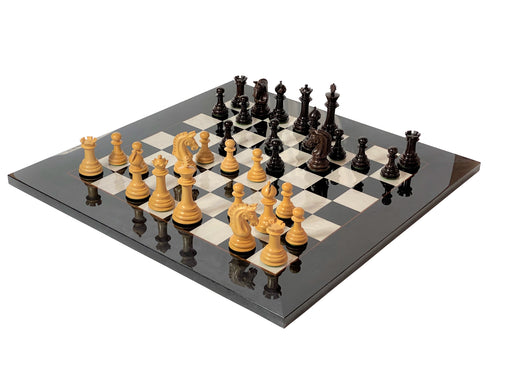 Italian Imperial Ebano Chess Set & Box - Official Staunton™