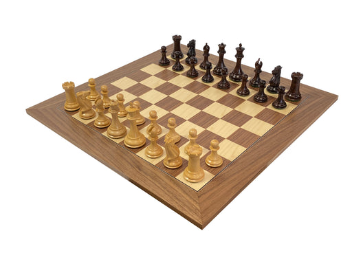 Collector Series Rosewood Walnut Chess Set - Official Staunton™