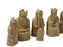 ECC Isle of Lewis Ivory & Teak Chess Pieces - Official Staunton™