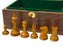 "3.5"" Leuchars Antique and Ebony  Chess Pieces & Box - Official Staunton™"
