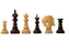 Artisan ST. Petersburg Padauk Montjoy Chess Set - Official Staunton™