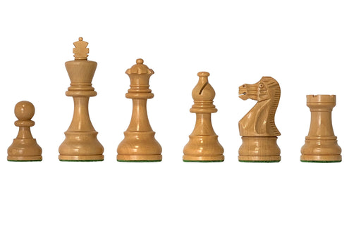 "3.75"" American Golden Rosewood Chess Pieces - Official Staunton™"