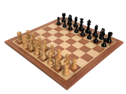 "21"" Grandmaster World Championship Mahogany Chess Set - Official Staunton™"