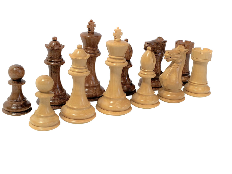 Acacia Walnut Professional Series Chess Set - Official Staunton™