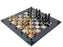 Italian Calvert Ebano Chess Set & Box - Official Staunton™