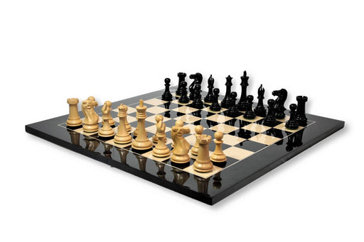 Championship Salvador Anegre High Gloss Chess Set - Official Staunton™