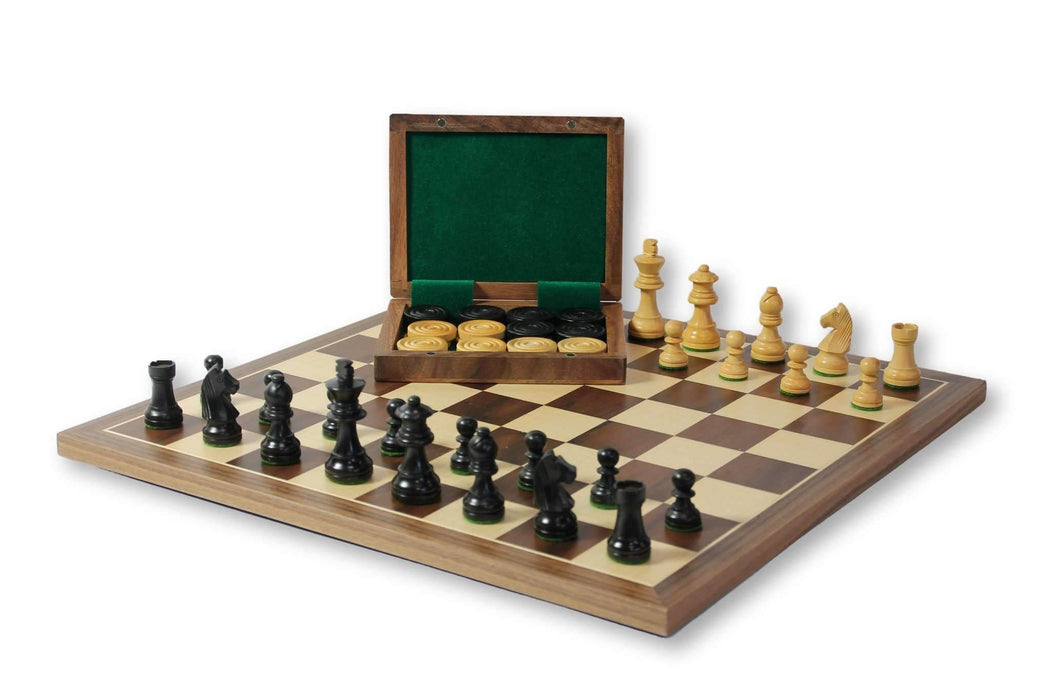 Chess & Draughts Set - Official Staunton™