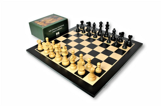 19 Inch British Anegre Chess Set