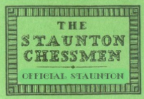 1851 Staunton Cooke Reproduction Boxwood Ebony Chess Pieces - Official Staunton™