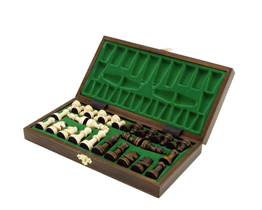 "10"" School Folding Chess Set - Official Staunton™"