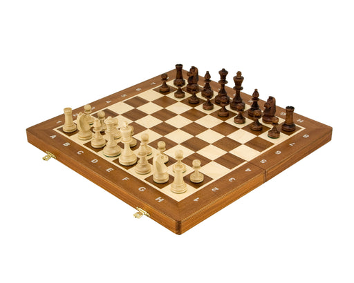 "16"" Folding Tournament Chess Set - Official Staunton™"