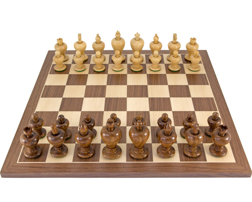 Apple Design Walnut Chess Set