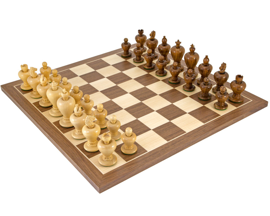 Apple Design Walnut Chess Set - Official Staunton™