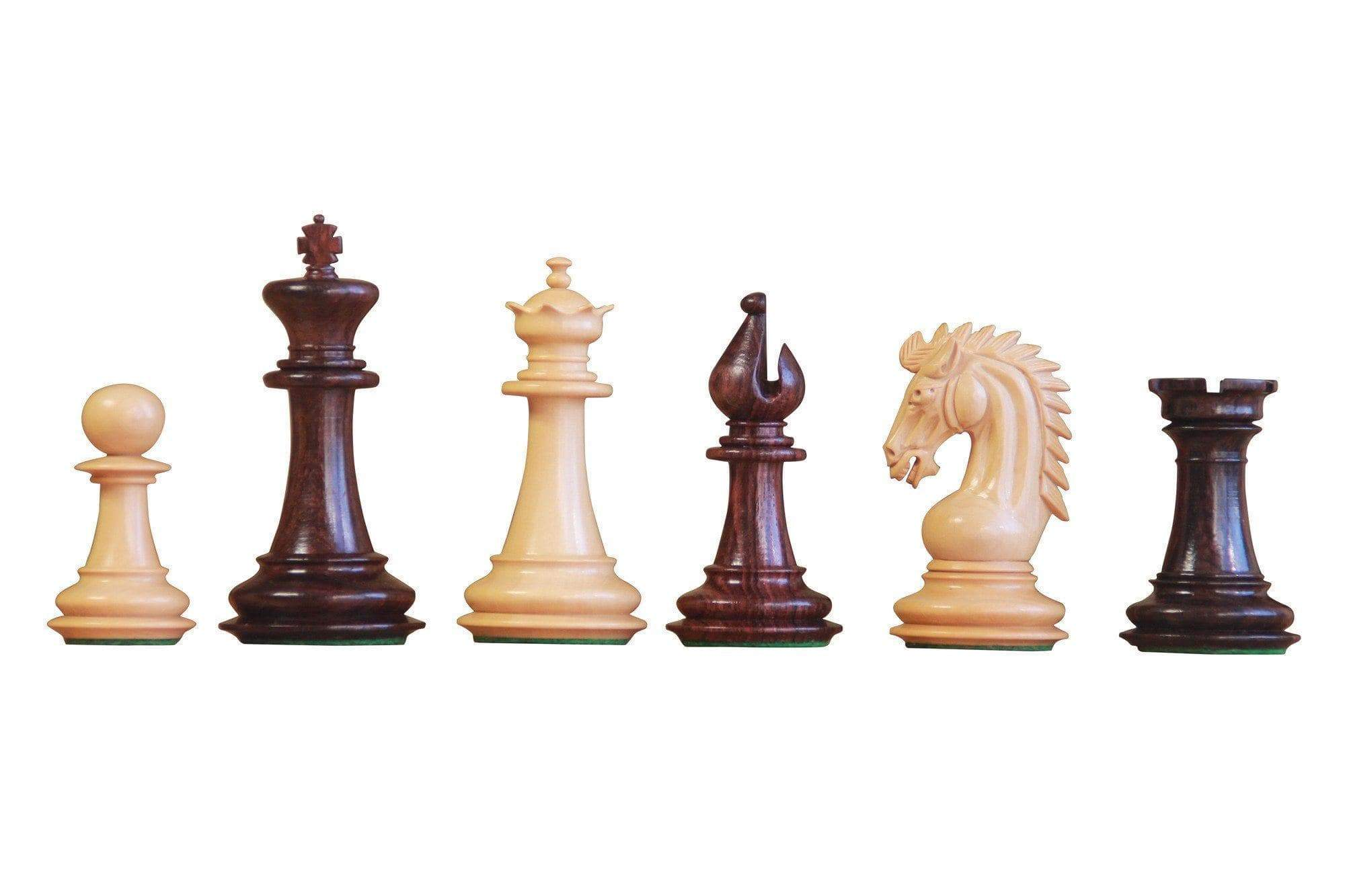 Chess Set - Artisan Sheffield Rosewood Chess Pieces