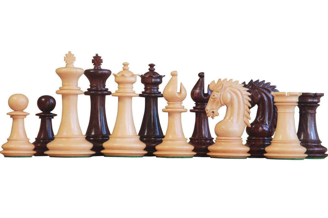 Artisan Sheffield Rosewood Chess Pieces - Official Staunton™