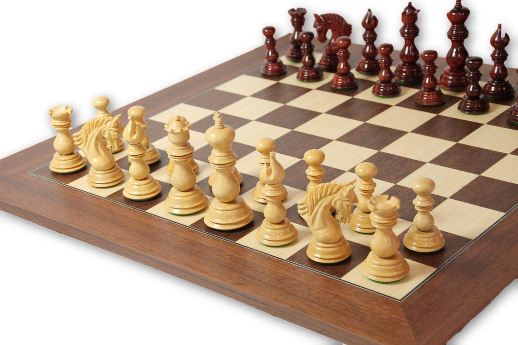 Artistic Derby Montgoy Palisander Luxury Chess Set - Official Staunton™
