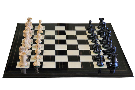 Championship Ebony Set Chess Board & Case - Official Staunton™
