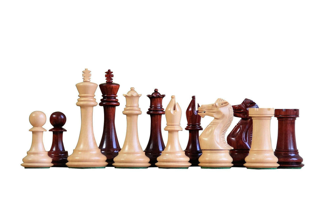 Championship Salvador Redwood Anegre Chess Set - Chess Set