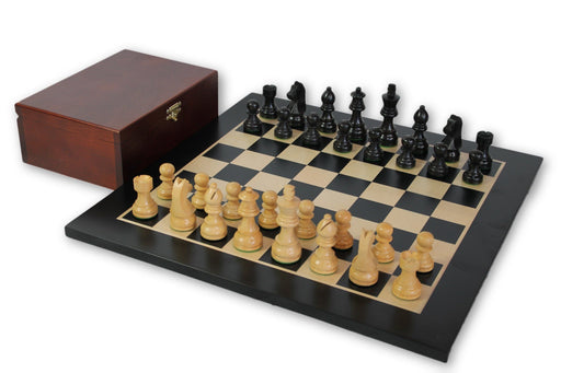 Classic Economy Anegre Chess Set Combination - Official Staunton™