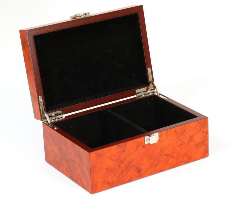 Large Burl Root wood Box - Official Staunton™