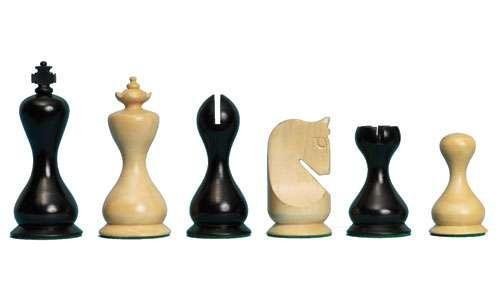The Hour Glass Chess Pieces - Chess Set