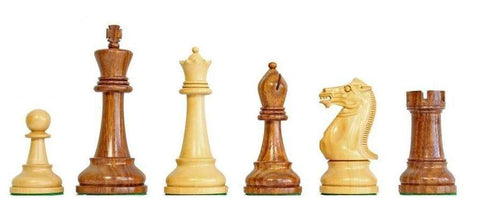 Winchester Sheesham & Boxwood Chessmen